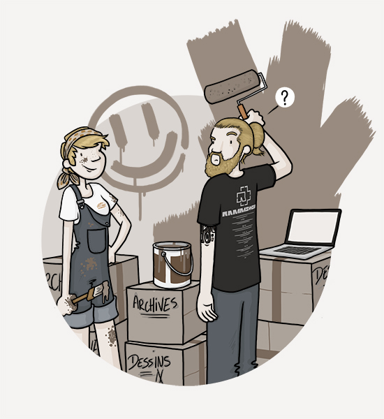 """Illustration de l'article """"Bientôt ici, nouveau site..."""""""